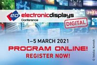 Logo electronic displays Conference