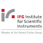 Logo IfG - Institute for Scientific Instruments GmbH
