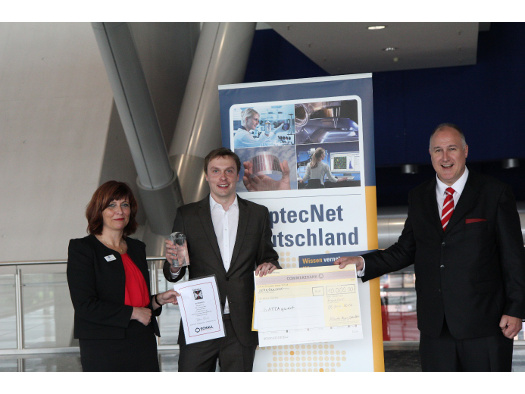 Der Sieger der OptecNet Start-up Challenge 2016